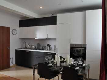 Дизайнерская отделка кухни